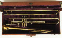 "King F-Rotor ""605"" Trombone w/ extra valve section"