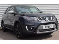 Suzuki Vitara S Boosterjet 1.4 Turbo Petrol Manual 5 Door Crossover Black 2016