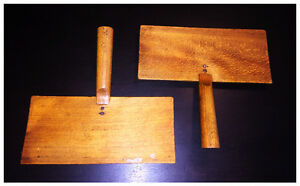 Pair of Antique wool carders