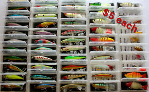 fishing lures $5 each all new
