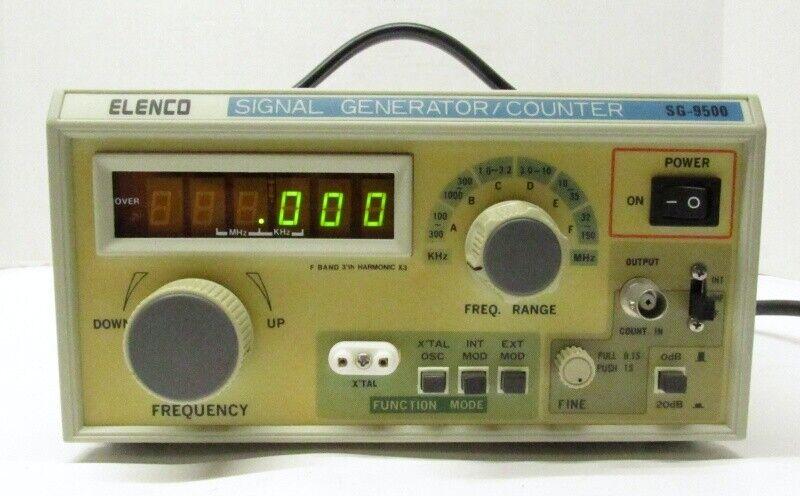 Vintage Elenco Signal Generator/Counter SG-9500