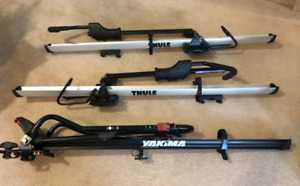 Thule - Yakima Rooftop Bike Carriers x3 $150 Each