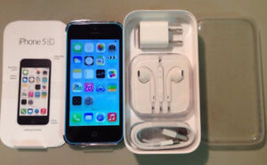 iPhone 5c 5 5S in box with brand new accessories 90 day warranty