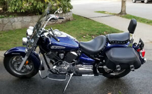 2009 Yamaha V Star 1100 Silverado (low kms) - $5000 SALE PENDING