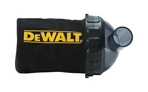 DEWALT DWV9390 DCP580 18V PLANER DUST & CHIP COLLECTION BAG & SUPPORT