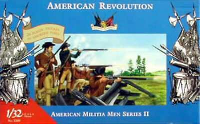 Accurate Figures American Militia Set II -- Revolutionary War -- 761963032094