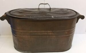 Copper Basin with Lid