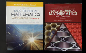 Basic Technical Mathematics with Solution (SI Version)