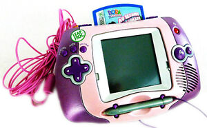 Console Leapster LeapFrog (rose)