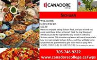 Sichuan Cooking - Canadore College, Parry Sound
