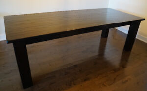 Beautiful solid hardwood dining table