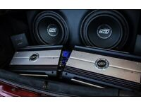 Car Audio fitter installer Amplifier subwoofer LED bluetooth Stereo nav dash/underseat lights HID