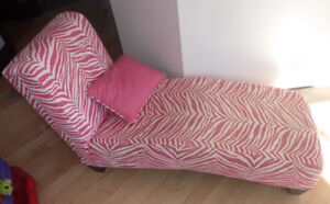 Kids' lounge chair with cushion - as is