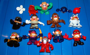 "Star Wars, Marvel Mr Potato Head 3"" Figures"
