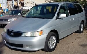 2001 Honda Odyssey - 7seats - Reliable - Inspected