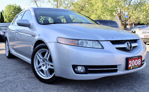 2008 ACURA TL - ACCIDENT FREE - AUTO - SUNROOF - CERTIFIED!