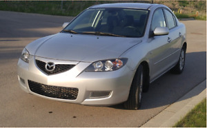 2009 Mazda 3 GS, dealership maintained and no accidents!