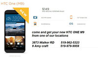 Come check out the new HTC ONE M9 just arrived today!
