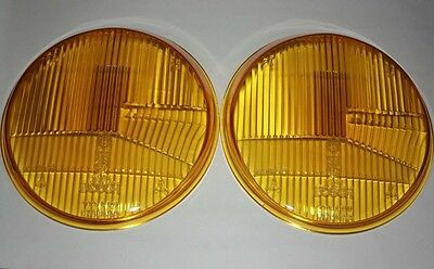 PORSCHE 911 912 TWO YELLOW H1 BOSCH HEADLIGHT LENSES