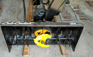 Cub Cadet - Three-Stage Snow Thrower Attachment