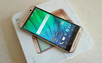 UNLOCKED GOLD  HTC  ONE M8