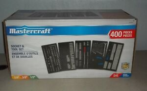Mastercraft Socket & Tool Set- Brand New