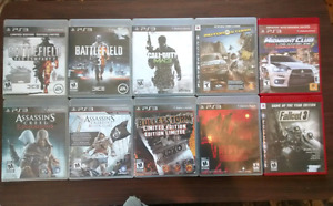 Good Playstation 3 Games $5 each