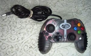 Mad Catz Turbo MicroCON CLEAR/GRAY Wired USB Xbox PC Controller