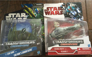 Star Wars collectible toys brand new