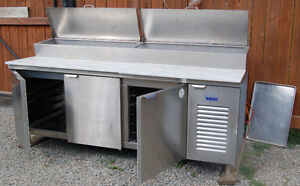 Commercial Refrigerated make table