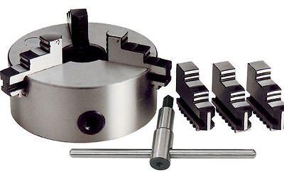 Mandrino autocentrante per tornio 3 + 3 griffe Ø 100 mm