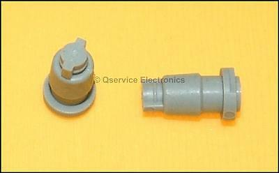 3 Pc Tektronix 377-0512-00 Knob Insert For 2215 2213 2230 Series Oscilloscopes
