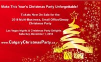 Tickets On Sale For The Dec. 1 Multi-Business Christmas Party!
