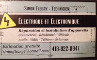 Technicien en électricité et électronique