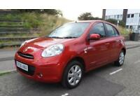 Nissan Micra Acenta 5dr PETROL AUTOMATIC 2011/60