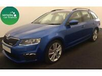 £256.14 PER MONTH BLUE 2013 SKODA OCTAVIA 2.0 CR VRS ESTATE DIESEL MANUAL