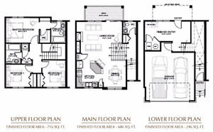 Unit 29 Three Bedroom Townhouse Available in Valleyview