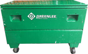 Experienced Greenlee 2448 tool chest with wheels $549.00