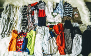 Baby boy clothing lot 3-6mth & 6-12mth, 100pieces for $100