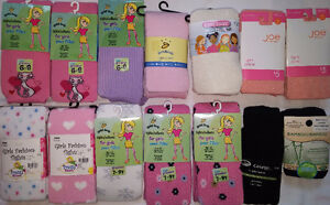 Large Selection of NEW Girls Size 6-8 & 7-10 & 10-14 tights