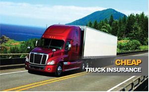 Save on truck insurance