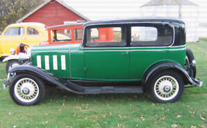 1932 Chevy Project