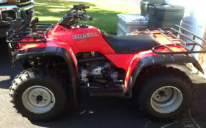 WANTED - MINT CONDITION HONDA 300 4X4 ATV