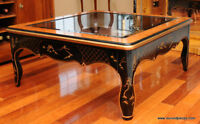 Oriental Square Lacquered Coffee Table