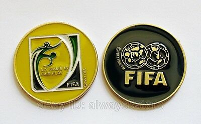 Football Soccer Fair Play Referee Coach Flip Toss Coin with Plastic (Referee Coachs)