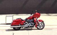 "4.5"" Cobra PowrFlo Slip-on Mufflers for Harley Touring"