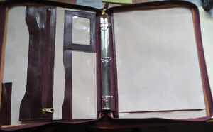 Renwick Leather Padfolio Kitchener / Waterloo Kitchener Area image 2