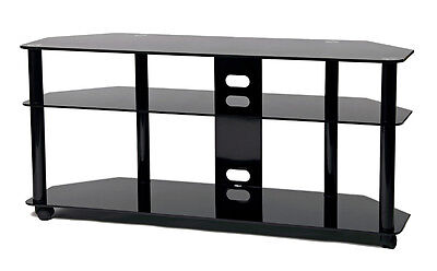 TransDeco Tall Corner LCD TV Stand w/Wheel 40 42 50 52 55 58 60 inch LCD TV NEW ()