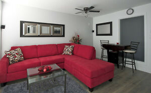 """Urban Den"" Luxurious condo from $150.00 CAD/night Parking Incl"
