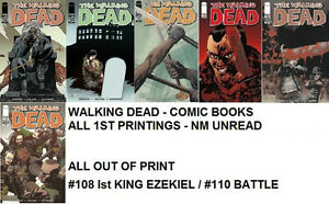 THE WALKING DEAD tv show comic books #100 to #144 lot